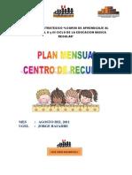 Plan Mensual Agosto