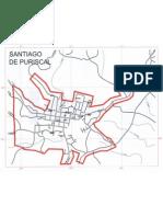 Mapa de Santiago de Puriscal