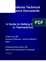A Guide to Getting Started in Telemedicine