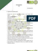 [21.10.2011] Pleno Extraordinario - Acta