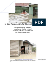 ENGLISH-Is God Responsible for Natural Disasters