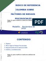Marco Juridico Riesgo Psicosocial Colombia