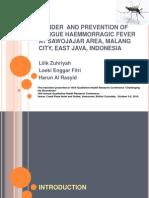 Gender and Prevention of Dengue Haemmorragic Fever at Malang City - Lilikz