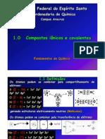 1 - Compostos Ionicos e Covalentes