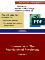 Hemeostasis .. Foundation of Physiology Ch1