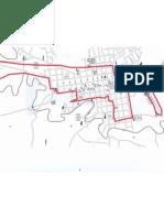 Mapa de Santa Cruz de Guanacaste