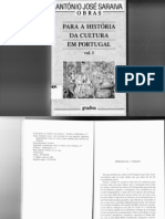Para Historia Da Cultura Em Portugal