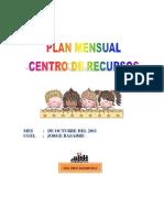 Plan Mensual Octubre