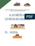 Plan Mensual de Julio