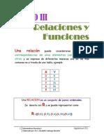 Unidad III-relaciones y Funciones-tics