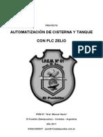 Memoria Proyecto Control Cisterna y Tanque Con Zelio