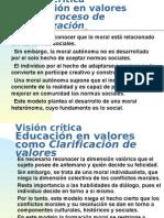 CrÍtica Modelos Educ Val
