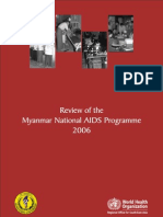 Review of the Myanmar National AIDS Programme