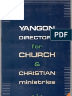 Yangon Church Directory