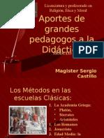 04. Aportes de Los Grandes Pedagogos a La Didactica