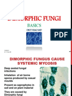 Dimorphic Fungal Infections