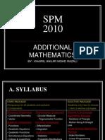 Spm Add Math Presentation