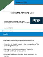 Marketing Case Interview