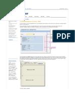 ABAP_ Collapsible Area Module Pool Screen - ABAP