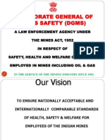 Overview of Directorate General of Mines Safety ( Purpose and Working scheme)