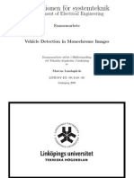 Vehicle Detection in Monochrome Images