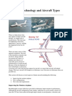 Advanced Technology and Aircraft Types