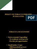 Tobaco in Malaysia