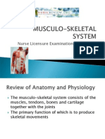 Musculoskeletal-system NLE Review