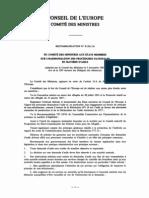 Recommandation No R (81) 16- sur l'harmonisation des procédures nationales en matière d'asile- section 3-1-a
