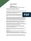 Recommandation No R (2004) 14- circulation et stationnement des gens en voyage en Europe- section 3-1-a
