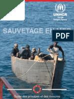 Sauvetage en mer- Guide des principes et des mesures qui s'appliquent aux migrants