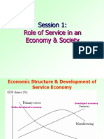 Role of Services in Economy