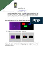 Segmentasi Filter RGB