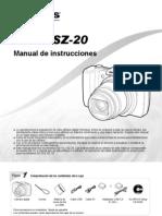 Olympus Sz-20 Manual Es