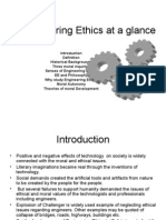 Engineering Ethics at a Glance