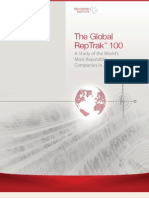 2011 Global RepTrak 100 REPORT