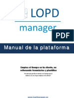 Manual Lopdmanager v 1 0