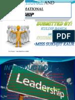 Transactional and Transformational Leadership