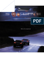 R34 GTT Sales Brochure