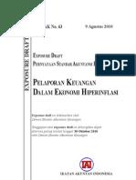 ED PSAK 63 Pelaporan Keuangan Dalam Ekonomi Hiperinflasi