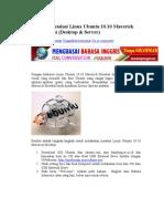 Tutorial Instalasi Linux Ubuntu 10