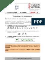 Unitat 1 - Gramàtica - Ortografia - Vocabulari