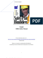 Sample OSHA Safety Manual