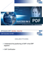 NIIT SAP Presentation