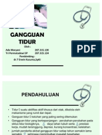 39522788 Power Point Gangguan Tidur