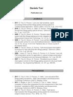 DTosi Publications