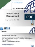 Project Time Management Workshop 11.10.2011.