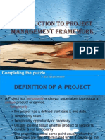 1. Introduction to Project Management
