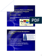 3 Maintenances Role in an Effective Am Program