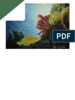 Painting] Balicasag Corals 001